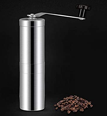 Cold Brew /& Pour Over Perfect for French Press Turkish- Free Bonus Gift Manual Coffee Grinder Hand Coffee Grinder Gift Set Adjustable for Fine//Coarse Grind