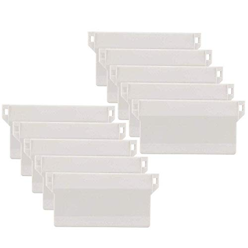 TOMYEUS Vertical Blind Weights Replacement Spares Bottom Weights Slats, Pack of 10