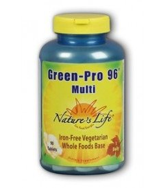 natures-life-green-pro-96-multi-iron-free-vegetarian-whole-foods-base-90-tablets