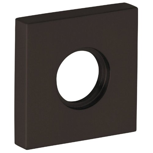 Baldwin 5056 Pair of Estate Rosettes for Passage Functions, Oil Rubbed Bronze