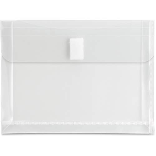 Sparco 02293 Poly Envelope, Top Open, 5-Inch x7-Inch, Clear