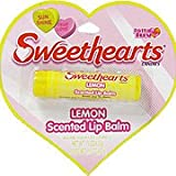 Sweethearts Lemon - Scented Lip Balm, 0.15 oz,(Sweethearts)