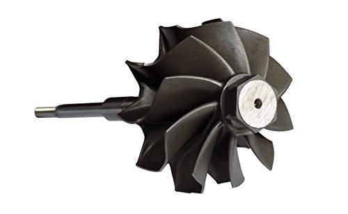 Wheels And Blades - 10 Blade Turbo Turbine Wheel For 2005 6.6l Duramax LLY & 6.0l Powerstroke
