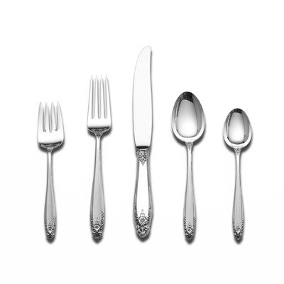 Prelude 5 Piece Flatware Set with Dessert Server