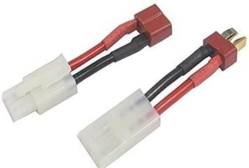 Tamiya Plug Adaptateur Mâle et Femelle gros Connecteurs X 5 Paires