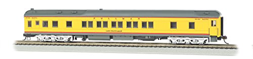 Bachmann Industries Union Pacific Lake Waccamaw Ho Scale 80' Pullman Car with Led Lighting
