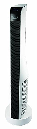 "Sharper Image 30"" ETL Certified Ceramic Tower Heater with Remote Control Ceramic Heaters Sharper Image"