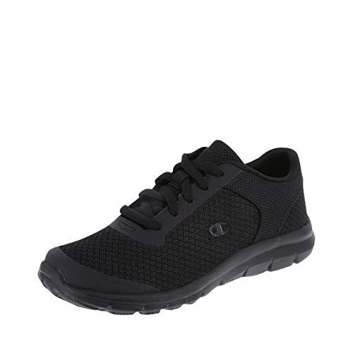 (Champion Boy's Black Performance Gusto Cross Trainer Little Kid Size 13.5 Regular)