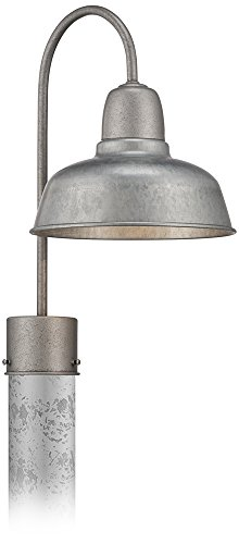 Urban Barn 15 3/4 High Galvanized Steel Outdoor Post Light