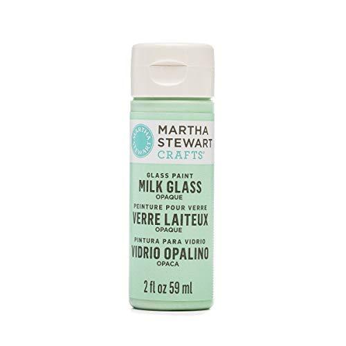 Martha Stewart Opaque Milk Glass Jadeite, 2 oz Paint - Opaque Milk Glass