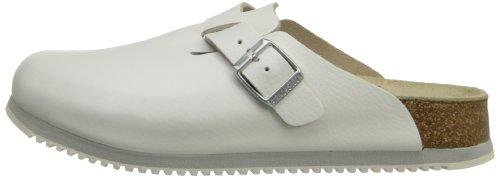 Birkenstock Unisex Professional Boston Super Grip Leather Slip Resistant Work Shoe,White,44 M EU by Birkenstock (Image #5)