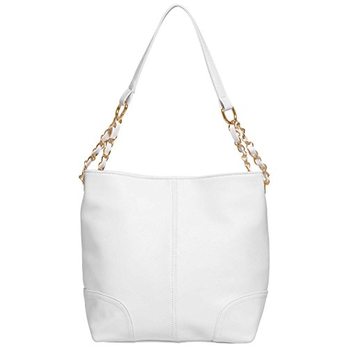 FASH Limited Classic Everyday Hobo Handbag, White