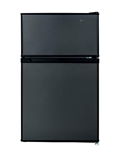 small 2 door refrigerator - 8