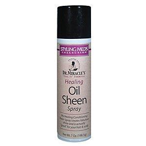 Dr. Miracle's Healing Oil Sheen Spray 7oz - Healing Oil Sheen Spray