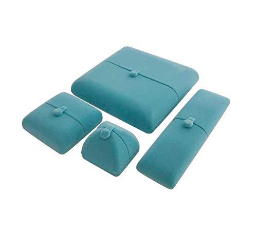 Svea Display Light Aqua Blue Velvet Jewelry Box for Bangle-Bracelet Premium  Quality Unique Design Fine Presentation Jewelry Case