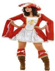 Juguetes Fantasia - Disfraz lady mosquetera adulto: Amazon.es ...