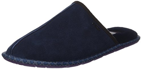 Ted Baker Men Youngi 2 Open Back Slippers Blue (Blue)