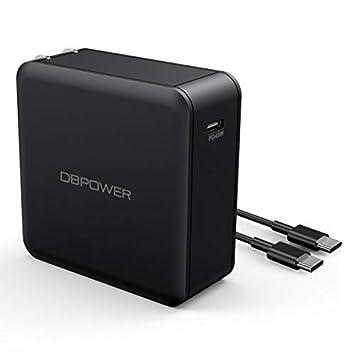 Amazon.com: DBPOWER USB C cargador con 45 W tipo C entrega ...