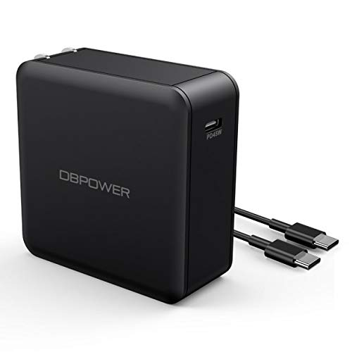 DBPOWER USB Type C Charger, USB-C Charger with Power Delivery 45W/60W USB Wall Charger for iPhone Xs/Max/XR/X/8, iPad Air 2/Mini, MacBook Pro/Air 2018, Galaxy S9/S8, LG, Nexus, Pixel, and More