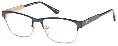 DALIX Womens Wayfarer Trending Prescription Glasses Frames 53-18-135 (Midnight - Glasses Trending Frames