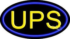 UPS Flashing Neon Sign - 17'' x (Ups Neon Sign)