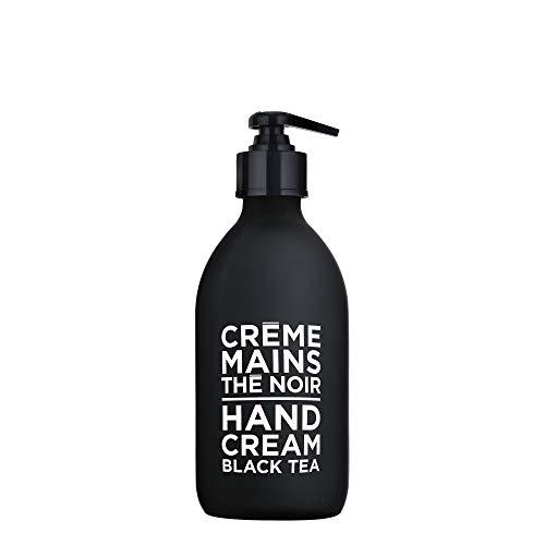 Compagnie de Provence Luxury Hand Cream - Black Tea - 10 Fl Oz Glass Pump Bottle