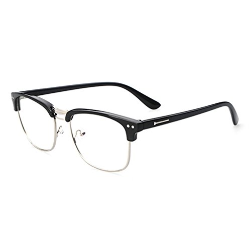 LOMOL Retro Personality Student Style Transparent Lens Frame Glasses For - List Polaroid Price