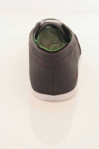 BOXFRESH SPARKO CANVAS EBFM0095BE3, Herren Halbschuhe dark brown/lime wx canv-white sole