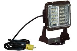 Larson Electronics 0424PNGXJZ4 Magnetic Mount 60 Watt Low Profile Led Flood Light - Glare Shield - 10