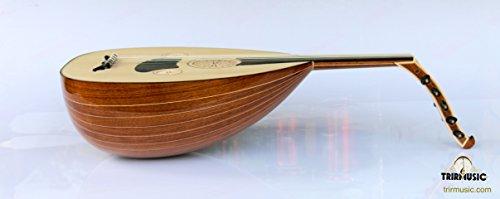 Turkish Professional Walnut String Instrument Oud Ud by Han
