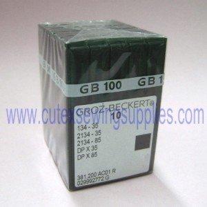 Size 21 metric 130 100 Groz-Beckert 134-35 DPX35R ADLER PFAFF Industrial Sewing Machine needles