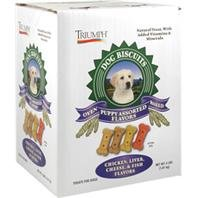 Triumph Pet 736176 Assorted Biscuits For Puppy, 4-Pound Box