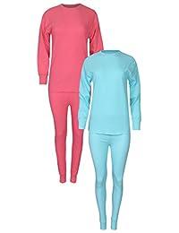 Tru Fit Women's Thermal Underwear 4 Piece Set