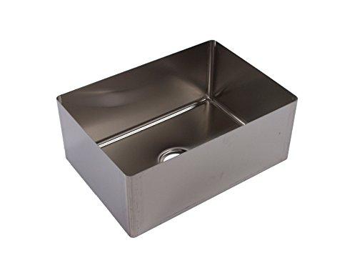 Tarrison SB2118146 Heavy Duty 16 Gauge Stainless Steel OEM Coved Centre Drain Sink Bowl, 18