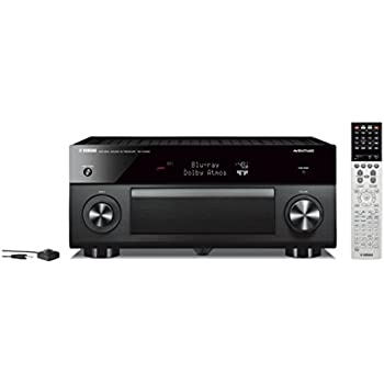Yamaha RX-A3060BL 11.2 Channel Network Aventage AV Receiver, Works with Alexa