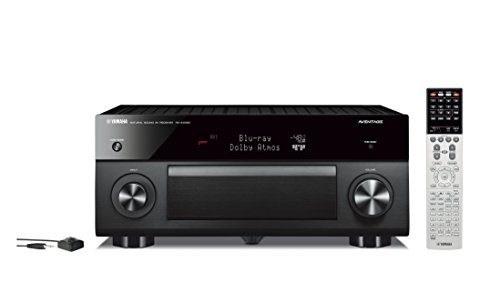 Yamaha RX-A3060BL 11.2 Channel Network Aventage AV Receiver, Works with Alexa -