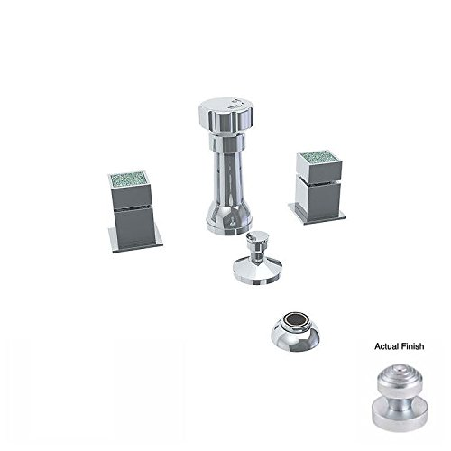 Watermark 97-4-J6-SC Satin Chrome Jem 4 Hole Bidet high-quality