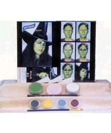 Graftobian LA2512EL Witch Character Makeup Kit (Witches Costume Makeup)