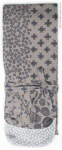 Shinai Bag with Traditional Japanese design - Gray
