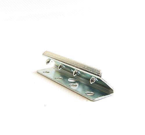 Tapicería End clips, metal, 5,1cm Amplio, # 239, 2piezas