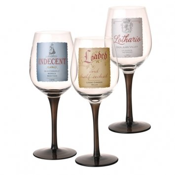 Grasslands Road in Vino Veritas Wine Glass Assortment, 9-Inch, Set of - Red Meritage Wine