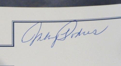 Dodgers Greats Autographed Ebbetts Field Litho 3 Sigs Labine Podres 131901 Autographed MLB Art
