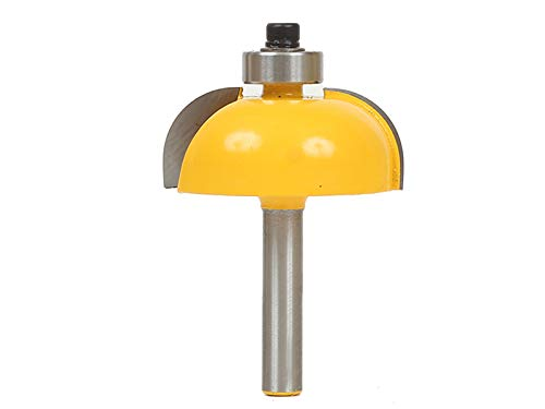 1/2 Inch Radius Cove Router - Yonico 13156q Cove Edging and Molding Router Bit with 1/2