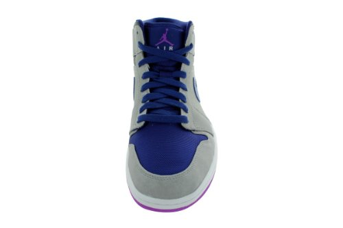 Nike Air Jordan 1 Mid Mens Basketball Shoes 554724-008 mkXc9i