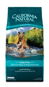 California Natural Grain Free Salmon Meal & Peas Formula Adult Dog Food 4.5lbs