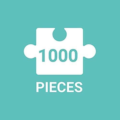1000 Stuks Landschap Building legpuzzels for volwassenen, puzzel Sets for Familie, Kartonnen puzzels Brain Challenge puzzel for kinderen Childrens ( Color : B ) qhBgtC4c