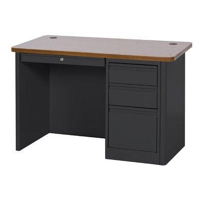 Sandusky Lee SP904830-BO 900 Series Single Pedestal Heavy Duty Teachers Desk, 30