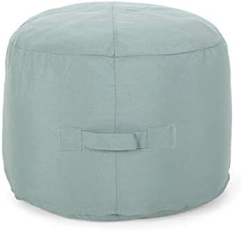 Christopher Knight Home 307771 Crystal Cay Outdoor Water Resistant 2' Ottoman Pouf