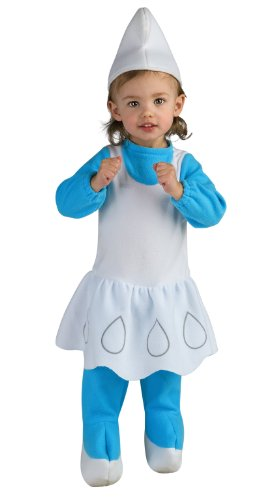 [Smurfette Costume - Toddler] (Smurf Costume 2 Year Old)