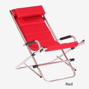 Twofold Bay Reclining Rocking Chair (red) An Amazingly Comfortable,  Lightweight U0026 Luxurious Outdoor